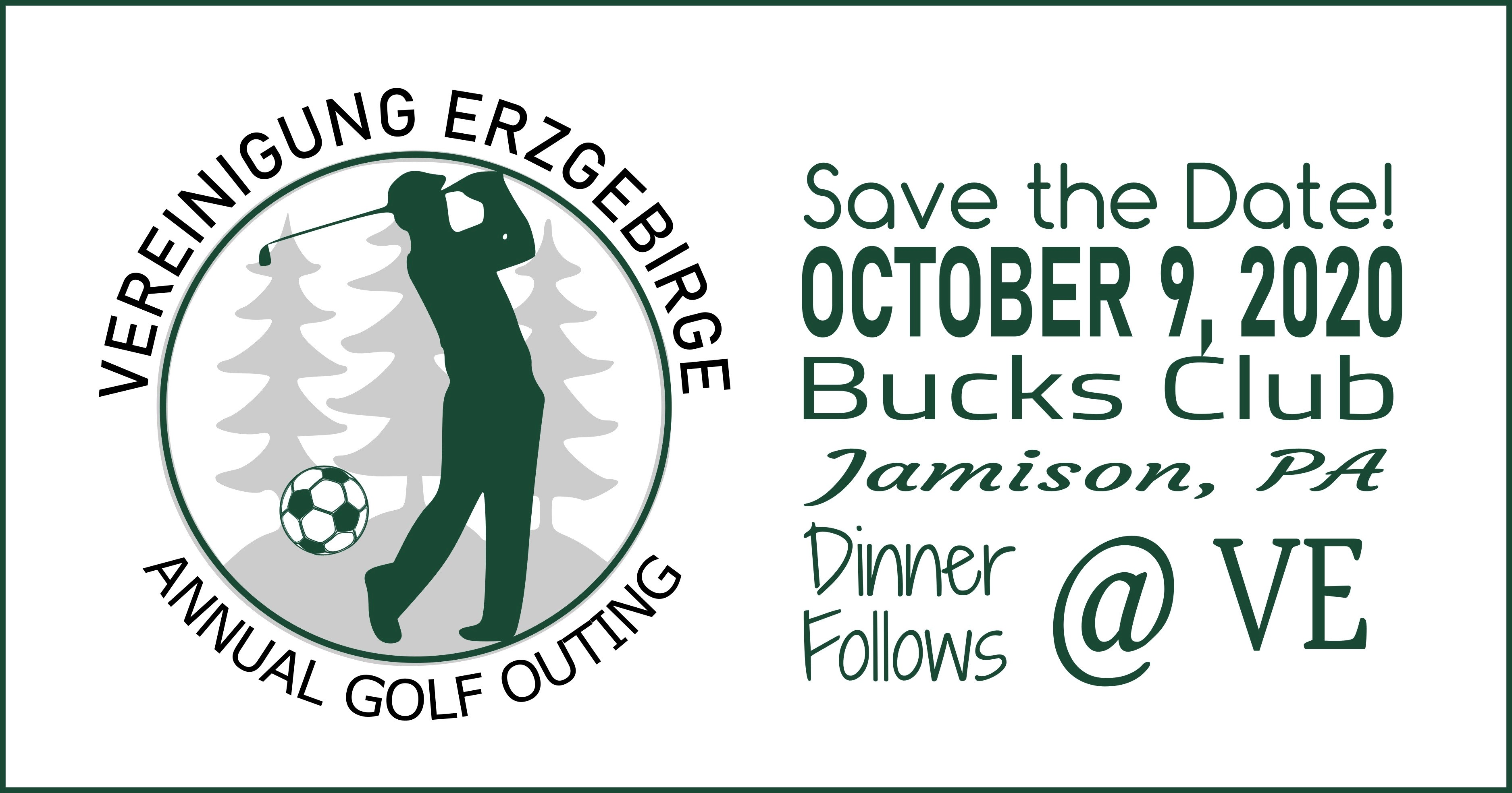 Golf Outing Rescheduled- New Date is October 9th !