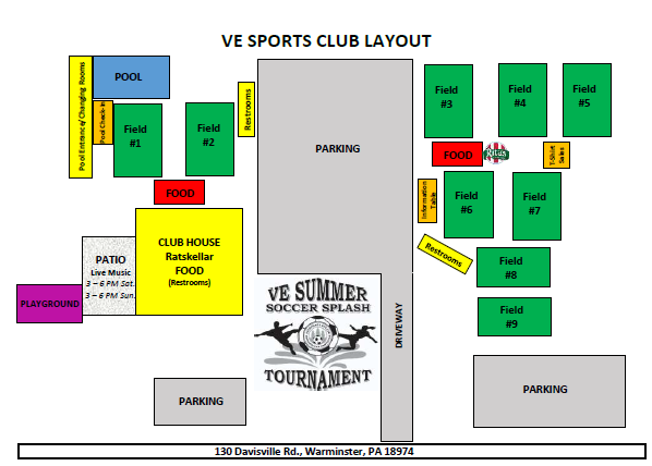 Tournament Field Map