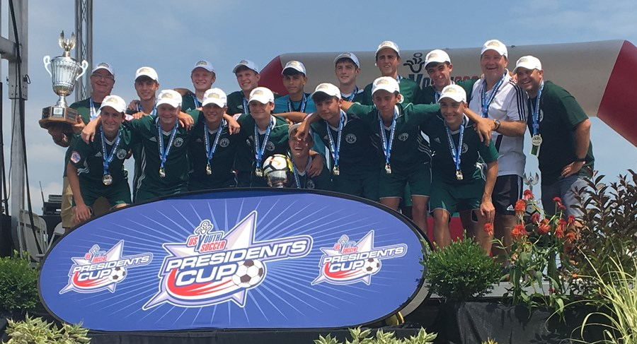 VE Green Gunners Win 2018 National Title !